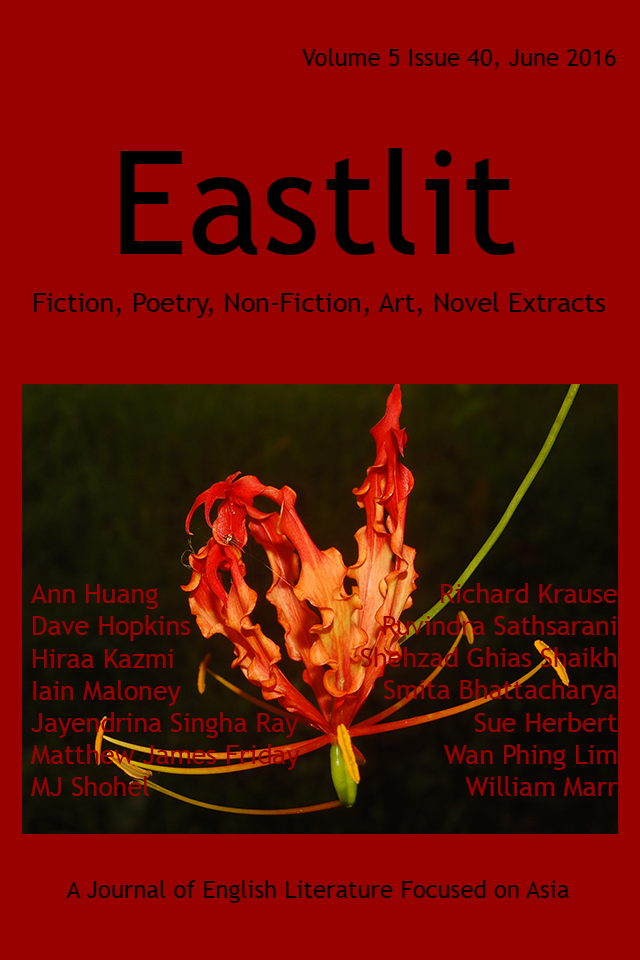 "Short story ""Graduation Trip"" published by Eastlit Literary Journal (June 2016)"